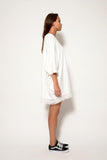 PONCHO MINI DRESS W/ TASSEL