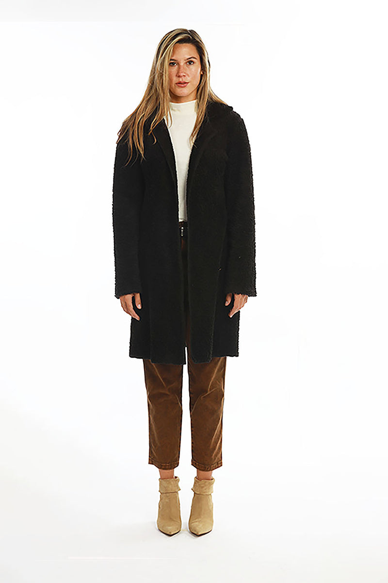 ALBA JACKET faux fur snuggle