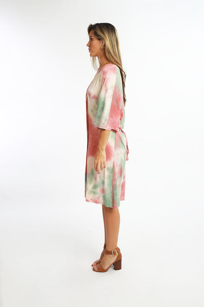 CABANA MINI DRESS tiedye