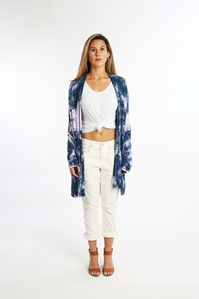 HIGHLAND CARDIGAN SHORT tiedye