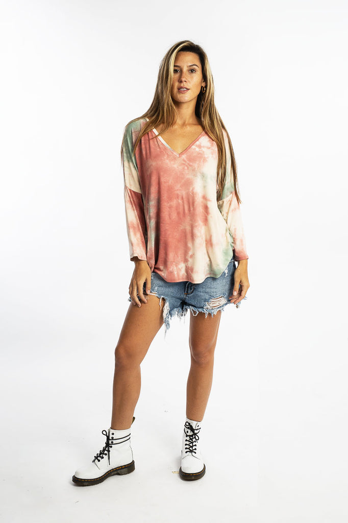 OLIVER TOP tiedye