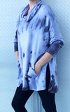 SHELLY FLEECE SWEATER tiedye