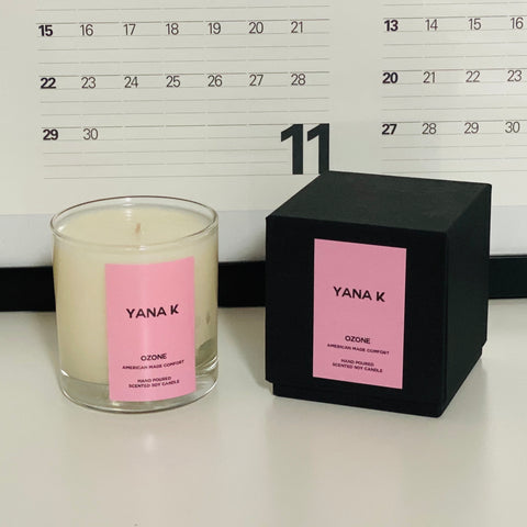 CANDLE - BLACK OUD