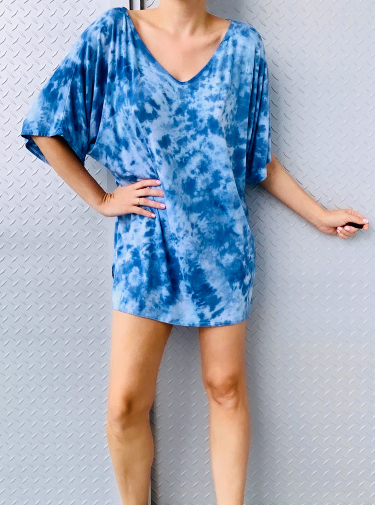 HAVANA MINI DRESS tiedye