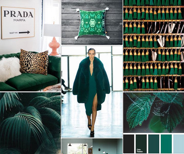 Colour Trends 2016 - Deep Green