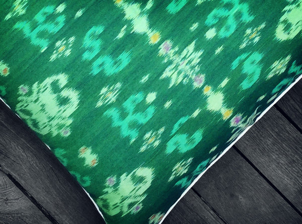 Endek Cushion in Green