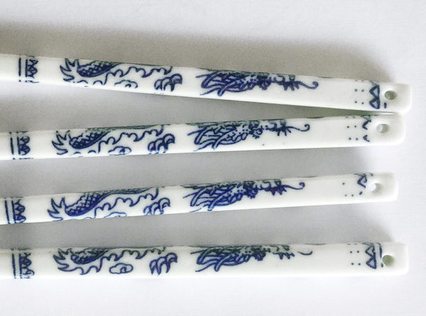 Hanoi Ceramic Chopsticks in Blue & White
