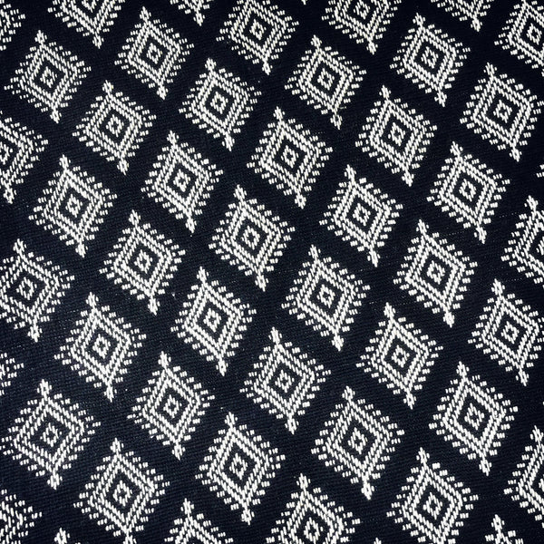 Sumba Table / Bed Runner in Black & White