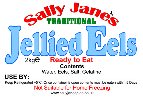 ½ Bowl of Jellied Eels (weighs just over 2kg (4½lbs)