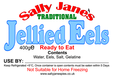 Sally Jane's Traditional Jellied Eels