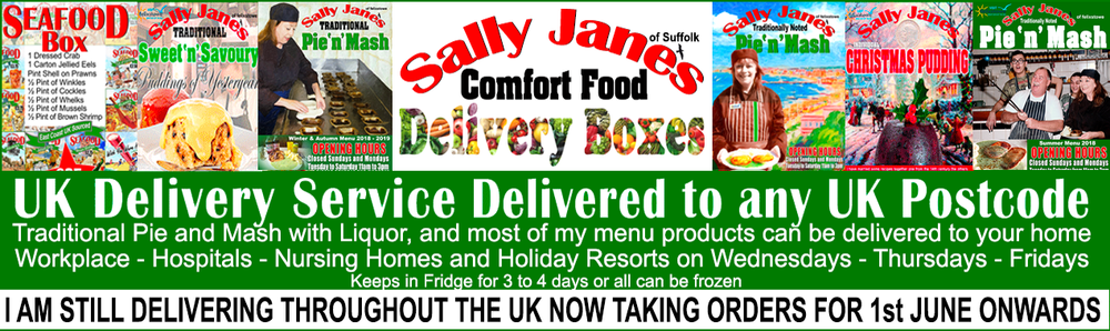 Sally Jane's Comfort Food Delivery Boxes