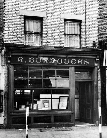 Burroughs in Lambeth Walk