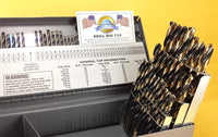 Drill Hog USA 123 Pc Drill Bit Set Letter Number HI-MOLY M7 Lifetime Warranty