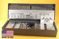 Drill Hog USA 115 Pc Drill Bit Set Letter Number Niobium Nb41  Lifetime Warranty