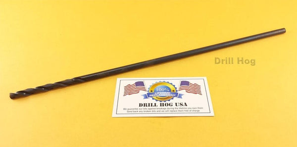 "5/32"" Aircraft Extension Drill Bit Aviation 12"" Long M7 HSS Lifetime Warranty"