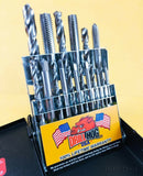 Drill Hog Tap & Drill Set Niobium National Coarse Index Bit Lifetime Warranty