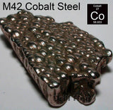 Cobalt Step Drill Bit Set 4 Pc M42 Spiral Step Bit Drill Hog Lifetime Warranty