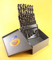 Drill Hog® 29 Pc Left Hand Drill Set HI-Moly M7 Drill Bit Set Lifetime Warranty
