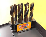 "8 Pc Silver & Deming Drill Bit Set 9/16"" to 1"" M7 Lifetime Warranty"