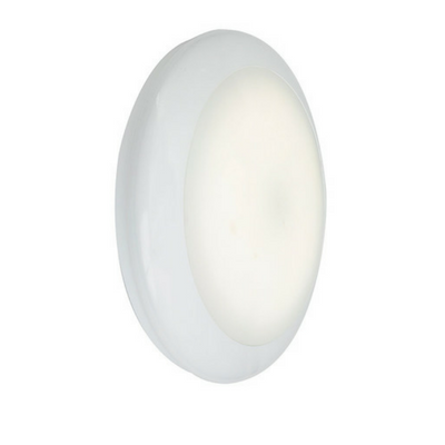 Ansell Mercury LED 19W Microwave Sensor Emergency White Bulkhead