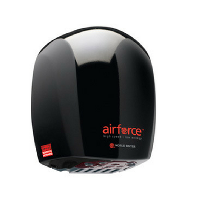 Warner Howard Airforce Black Hand Dryer