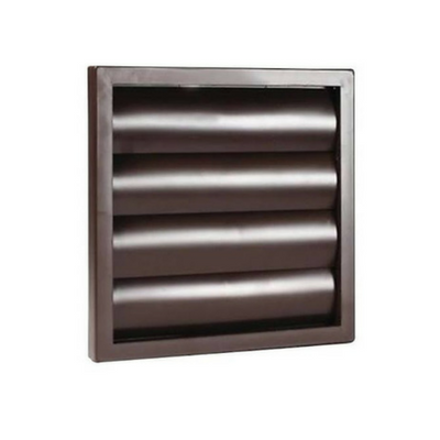 "100mm (4"") PVC Gravity Grille Brown"