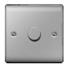 BG Nexus Metal 1 Gang 2 Way Dimmer Switch