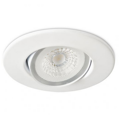 Collingwood Halers H4 Lite 4000k LED Mains Dimmable IP65 Downlight White