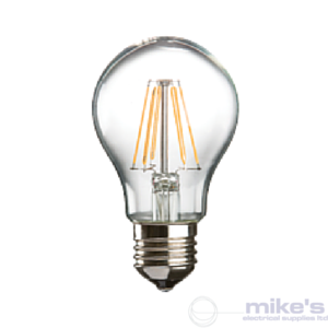 ML Accessories Knightsbridge LED Filament GLS 6W Lamp