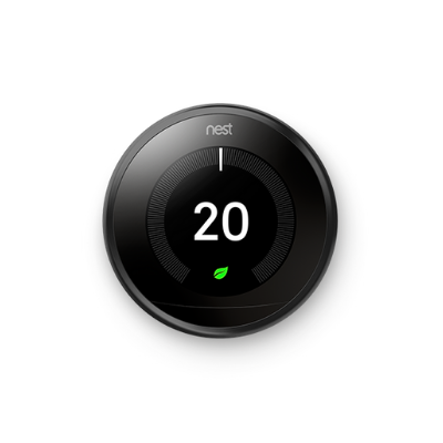 Nest Learning Thermostat - Black