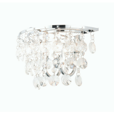 Forum Celeste 2 Light Bathroom Wall Light