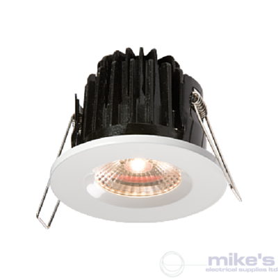 ML Accessories Knightsbridge FireKnight Fixed Fire & Shower Rated Downlight