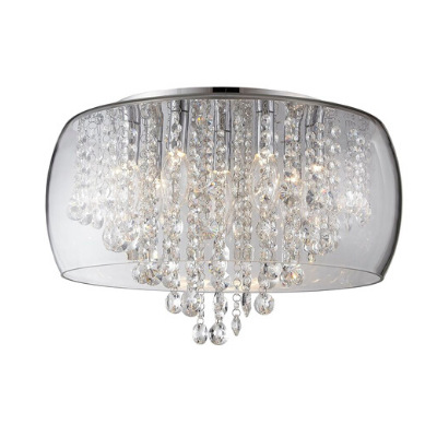 Forum Nore Large Encassed Flush Bathroom Light