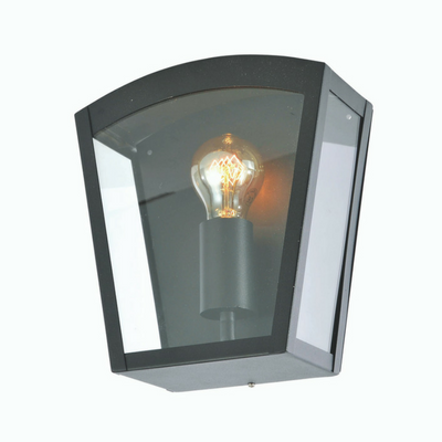 Forum Artemis Outdoor Box Lantern Black