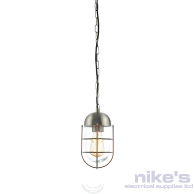 Forum Kari Outdoor Hanging Lantern Stainless Steel