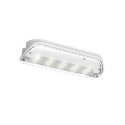 Ansell Swift LED Bulkhead Maintained / Non-Maintained 3W White