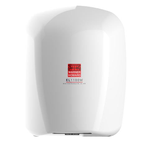 Warner Howard EL1100 Hand Dryer White