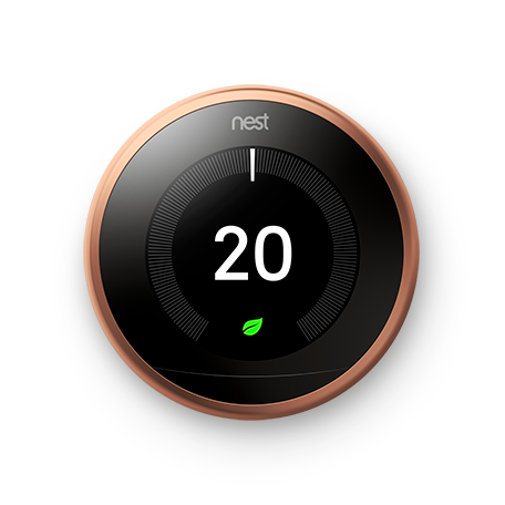 Nest Learning Thermostat - Copper