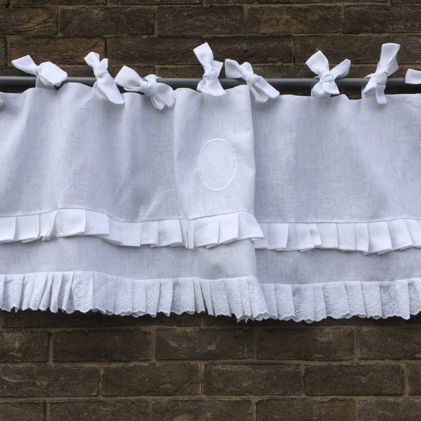 Who's into Ruffle Window Curtains?