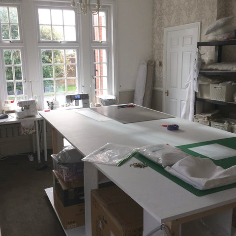 Linen and Letters Workroom