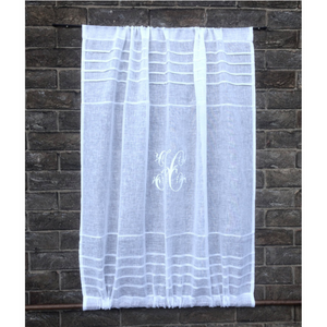 Sheer Linen Door Curtain