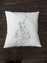 Load image into Gallery viewer, British Isles Cushion Cover