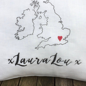 British Isles Cushion Cover