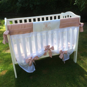Heirloom Baby Crib Rail Cover