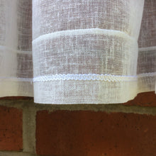 Load image into Gallery viewer, BATH Embroidered Cafe Curtain Set
