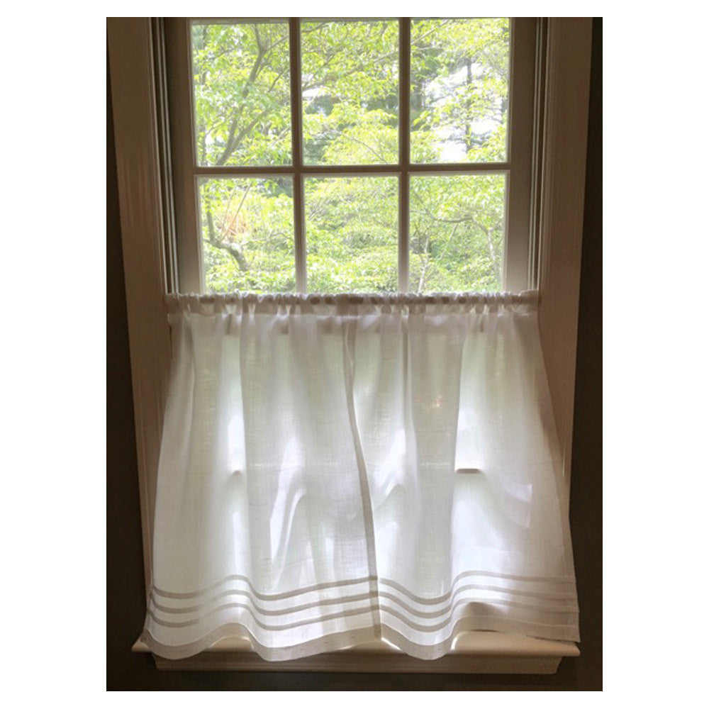 Pleated Cafe Curtain