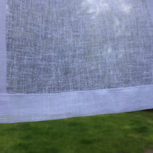 Load image into Gallery viewer, Sheer Linen Panel with Curtain Tape