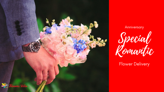 Anniversary Special Romantic Flower Delivery In Pune