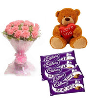 Buy Gift Combo Online - for Midnight Flower Delivery in Sadabad