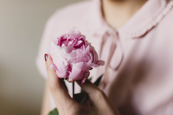 peonies for women day